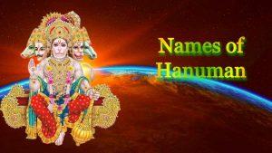 Names of Hanuman
